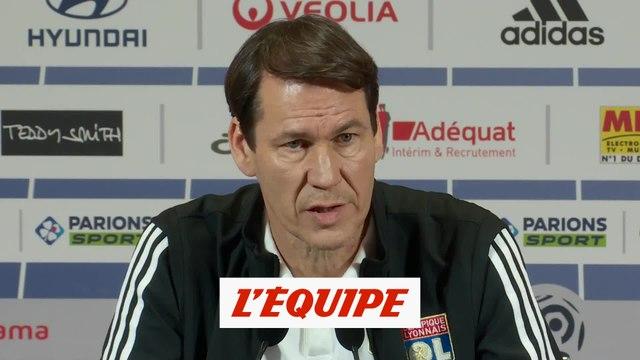 Garcia «Sportivement, on a besoin de Dembélé et Tousart» - Foot - L1 - OL