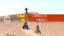 Dakar 2020 - Étape 6 / Stage 6 - 2 Wheels vs 4 wheels