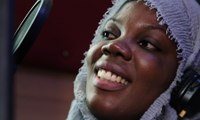 The veiled rapper breaking taboos for women in Senegal – video