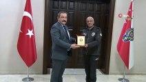 Ankara İl Emniyet Müdüründen görevi dolan bekçilere ödül