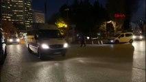 Ankara jeffrey ve beraberindeki heyet dışişleri bakanlığı'ndan çıkış yaptı