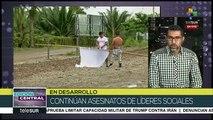 Colombia: a sólo 9 días del 2020 ya son seis líderes asesinados