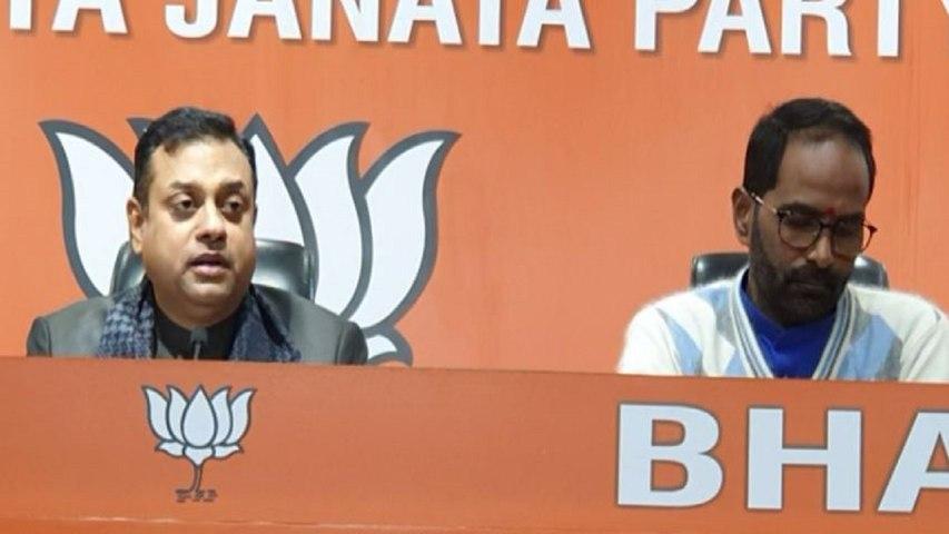 Sambit Patra Attacks on Kejriwal After Shoaib Iqbal Joins AAP