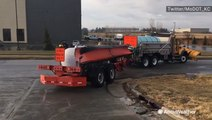 DOT Crews prep plows for this weekend's severe weather