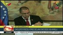 Conexión Global: Canciller venezolano ofrece declaraciones