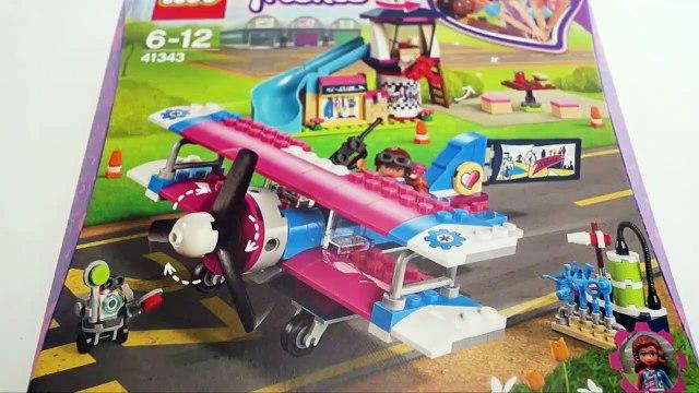 LEGO 41343 Heartlake City Airplane Tour - LEGO Friends Speedbuild