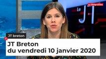 JT Breton du vendredi 10 janvier 2020