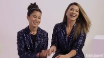 Gina Rodriguez and Tess Romero Love Their Shared Character in 'Diary of a Future President'