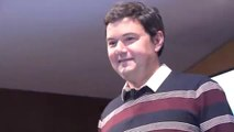Conferència de Thomas Piketty al Palau Macaya