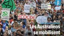 Choqués par les incendies, 20 000 Australiens manifestent pour le climat