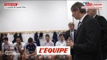 La causerie de Laurent Tillie avant France-Allemagne - Volley - TQO