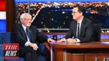 Bernie Sanders Reacts to Larry David Asking Him to Drop Out of Race to Avoid 'SNL' Sketches | THR News