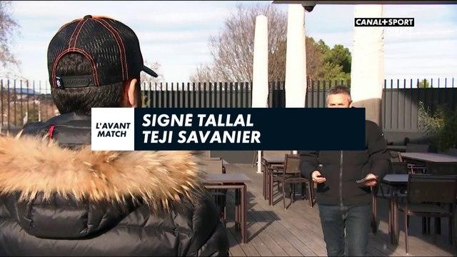 Signé Tallal avec Téji Savanier