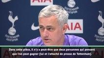 """22e j. - Mourinho : """"Seulement deux personnes pensent que l'on peut gagner"""""""