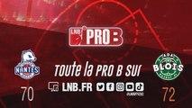 PRO B : Nantes vs Blois (J14)