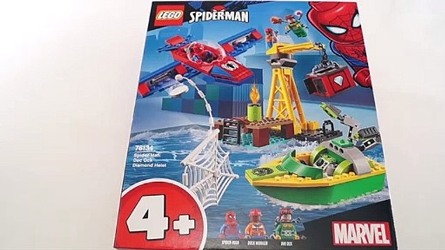 LEGO Spiderman 76134 Spider-Man- Doc Ock Diamond Heist Speed Build