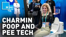 We checked out Charmin's pee and poo tech at CES