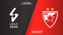 LDLC ASVEL Vileurbanne - Crvena Zvezda mts Belgrade Highlights | EuroLeague, RS Round 18