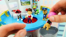Toy Learning Video for Kids with Paw Patrol Ultimate Rescue Vehicles-