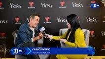 Carlos Ponce habla sobre su personaje en La Doña y sus nuevos proyectos