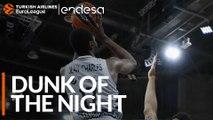 Endesa Dunk of the Night: Livio Jean-Charles, LDLC ASVEL Villeurbanne