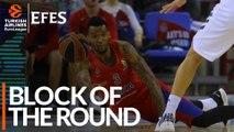 Efes Block of the Round: Joel Bolomboy, CSKA Moscow