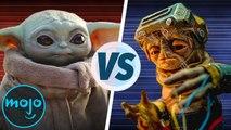 Baby Yoda vs Babu Frik