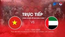 TRỰC TIẾP | U23 VIỆT NAM - U23 UAE | VCK U23 CHÂU Á 2020 | VFF Channel