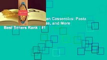About For Books  Vegan Casseroles: Pasta Bakes, Gratins, Pot Pies, and More  Best Sellers Rank : #1