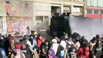 Un viernes más de protestas e incidentes en la capital de Chile