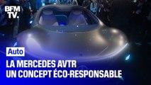 """Mercedes s'inspire du film Avatar pour son dernier concept """"éco-responsable"""""""