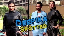 Deepika & Vikrant Spotted During The Promotion Of Chhapaak
