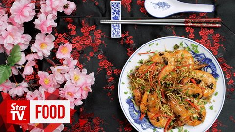 Retro Recipe: Pan-fried prawns