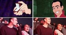 Il pirate un film Disney en plein cinéma pour faire une énorme surprise à sa copine