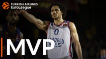 Turkish Airlines EuroLeague Regular Season Round 18 MVP: Shane Larkin, Anadolu Efes Istanbul