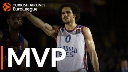 Round 18 MVP: Shane Larkin, Anadolu Efes Istanbul