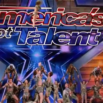 Americans dance on  Indian song  in Americans Gots Talent