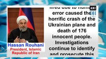 Iran admits to shoot down Ukrainian jetliner 'unintentionally'