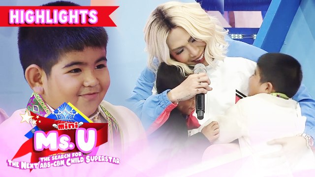 Carlo and Yorme wish Vice for new cellphone | It's Showtime Mini Miss U