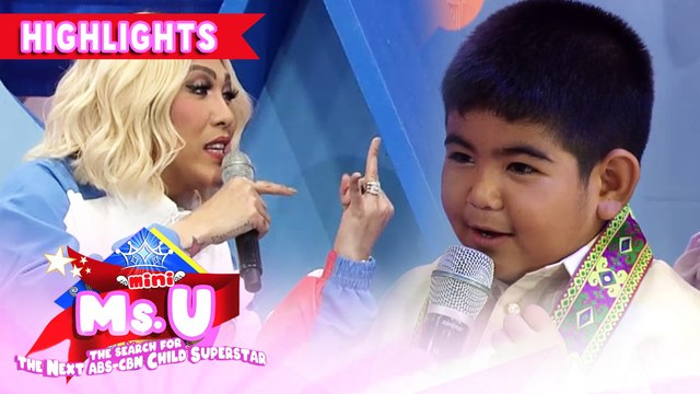 Vice challenges Yorme in Math | It's Showtime Mini Miss U