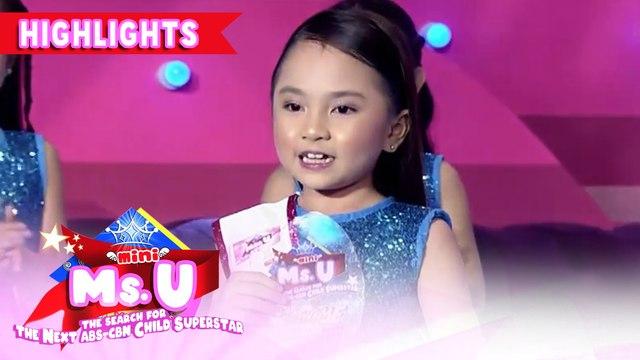 Gab Villanueva wins the Madlang People's Choice award | It's Showtime Mini Miss U