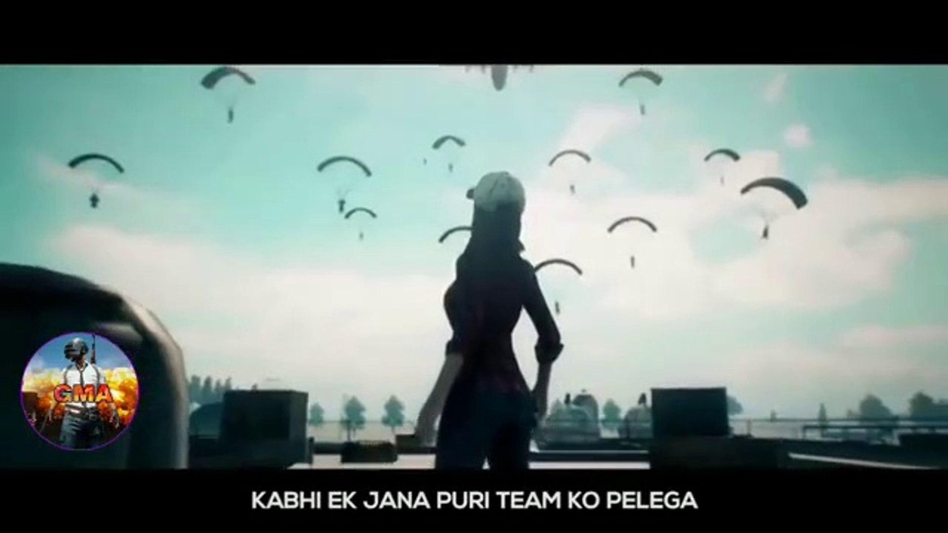 New  PUBG Hindi Rap Song  circle huwa chota iske ma ki ch   #New viral pubg rap song dailymotion