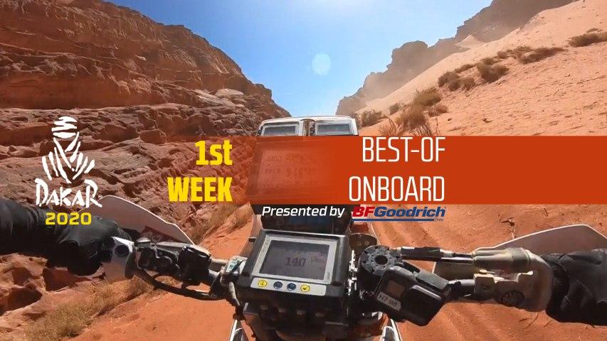 Dakar 2020 - Best-of Onboard - 1st week / 1ère semaine