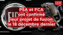 Le projet de fusion entre PSA et FCA en 4 chiffres