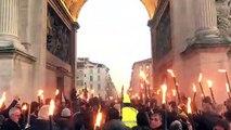 Manifestation à Marseille : les animations se poursuivent à la Porte d'Aix
