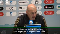 Playing finals is in Real Madrid DNA - Zidane