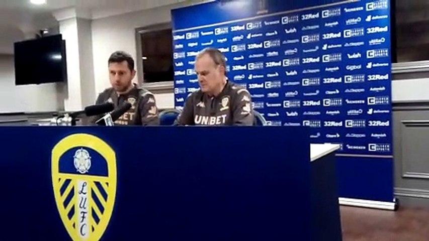 Marcelo Bielsa post-Sheffield Wednesday