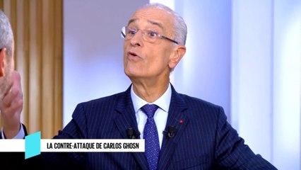 La contre-attaque de Carkis Ghosn - C l'hebdo - 11/01/2020