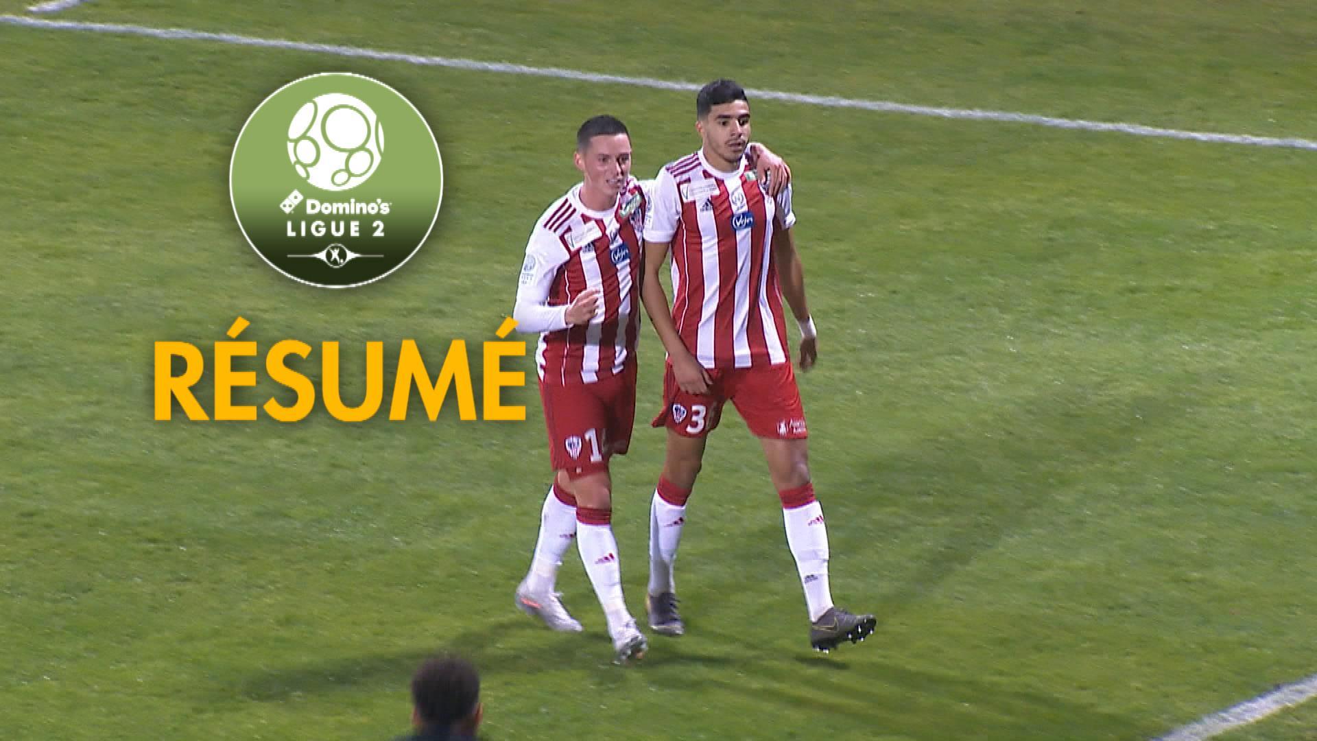 AC Ajaccio - Grenoble Foot 38 (3-1)  - Résumé - (ACA-GF38) / 2019-20