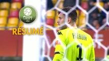 Le Mans FC - AJ Auxerre (0-1)  - Résumé - (LEMANS-AJA) / 2019-20